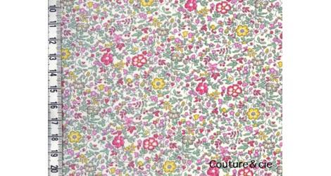 Tissu liberty Katie and Milie pastel dans Batistes Tana Lawn par Couture et Cie