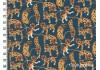 Liberty Heads and Tails bleu canard dans Batistes Tana Lawn par Couture et Cie