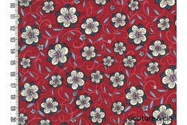 Tissu Liberty Lolly rouge