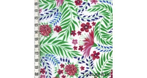 Tissu Liberty Delilah dans Batistes Tana Lawn par Couture et Cie