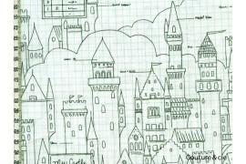Tissu Castle plans