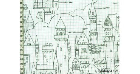 Tissu Castle plans dans MICHAEL MILLER par Couture et Cie