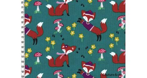 Tissu Lil Foxy dans MICHAEL MILLER par Couture et Cie