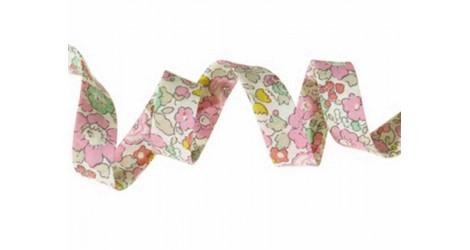 Biais Betsy ann sweet pink dans Biais Liberty par Couture et Cie