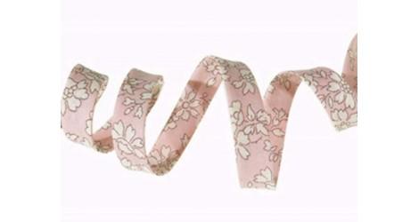 Biais Liberty Capel rose nude dans Biais Liberty par Couture et Cie