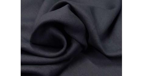 Fine toile de lin bleu marine dans Lins par Couture et Cie