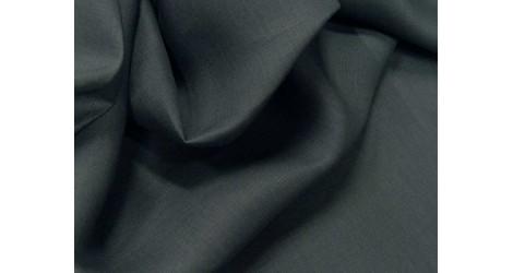 Fine toile de lin gris acier dans Lins par Couture et Cie