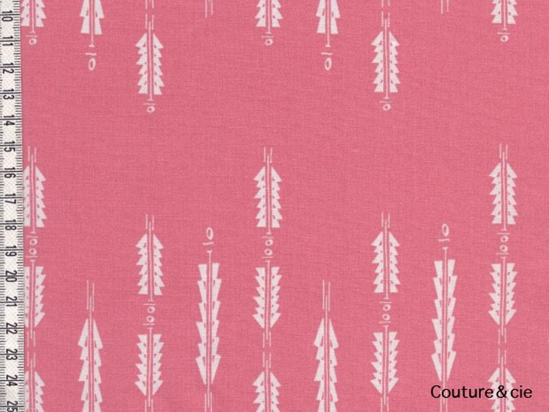Tissu Art Gallery fabrics Aura Fletchings rose