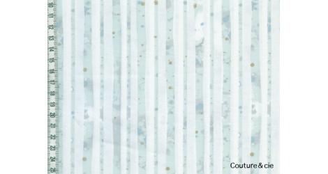 Tissu AGF Glacier Path Aqua, collection Blithe dans ART GALLERY FABRICS par Couture et Cie
