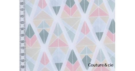 Tissu AGF Diamond Fragments rose, collection Garden dreamer dans ART GALLERY FABRICS par Couture et Cie