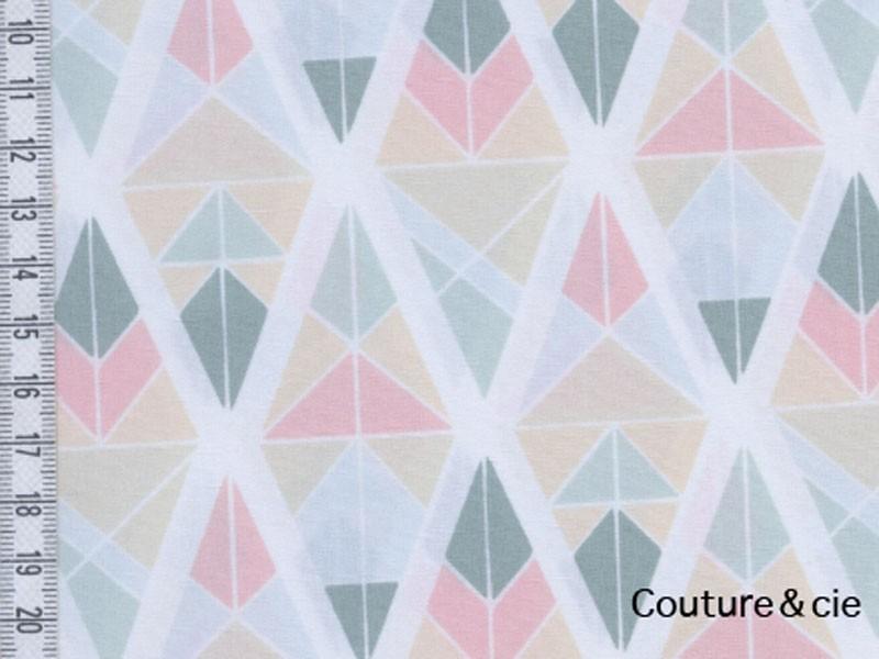 Tissu  Art Gallery Fabrics Diamond Fragments rose