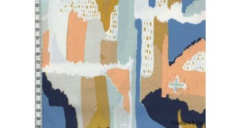 Tissu AGF Painting Morale dans ART GALLERY FABRICS par Couture et Cie