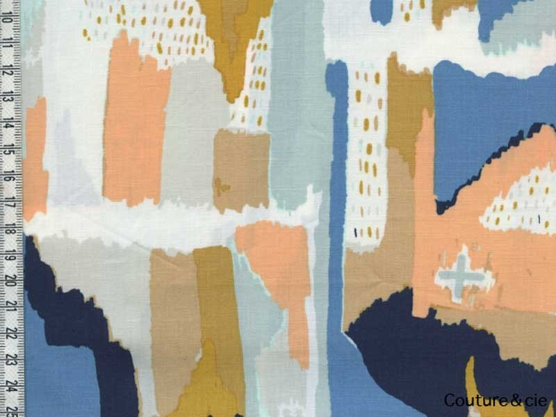 Tissu art Gallery Fabrics Painting Morale