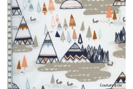 Tissu AGF Tipi, Indian Summer