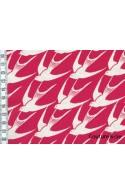 Cotton + Steel Bird rouge