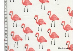 Tissu Rifle Paper co Flamingo