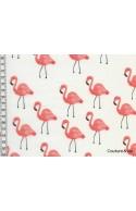 Tissu Rifle Paper co Flamingo