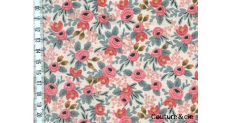 Rosa Peach dans COTTON + STEEL par Couture et Cie