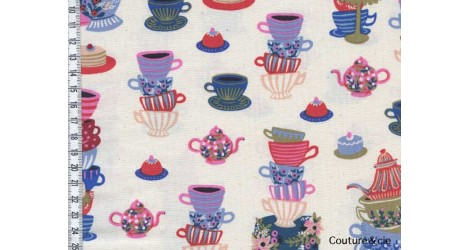 Tissu Rifle paper co Mad tea party