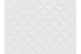 Jersey matelassé blanc