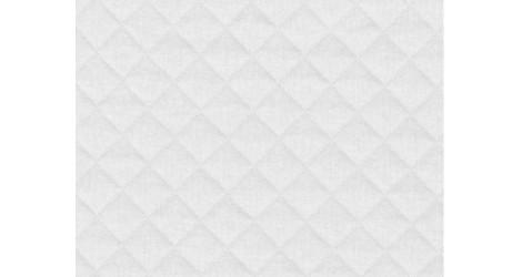 Jersey matelassé blanc dans Matelassés par Couture et Cie