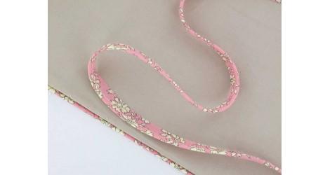 Passepoil Liberty Capel rose pâle dans Passepoils Liberty par Couture et Cie