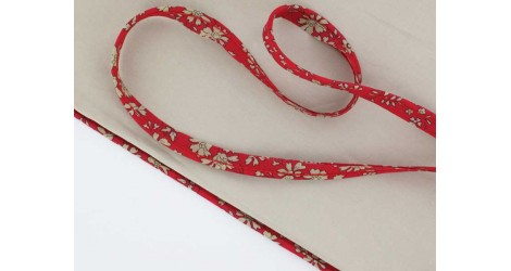 Passepoil Liberty Capel rouge dans Passepoils Liberty par Couture et Cie