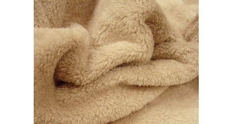Teddydou beige dans Teddydou / Minky par Couture et Cie