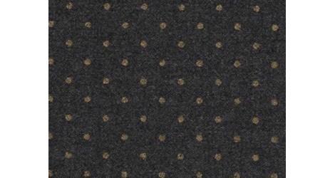 Lainage gris à pois dorés dans Lainages FDS par Couture et Cie
