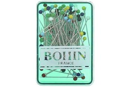 Epingles à tête de verre Bohin