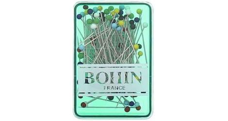 Epingles à tête de verre Bohin dans Epingles/Aiguilles par Couture et Cie