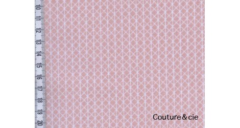 Basic Netorious rose et blanc dans COTTON + STEEL par Couture et Cie