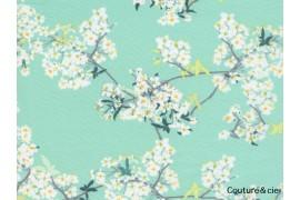 Tissu Cherrylight vert