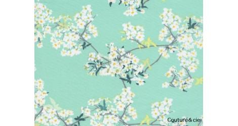 Tissu Cherrylight vert dans ART GALLERY FABRICS par Couture et Cie