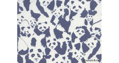 Tissu Pandalicious Pandaling Pods dans ART GALLERY FABRICS par Couture et Cie