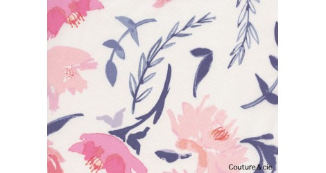 Tissu Wonderful Things Pivoines dans ART GALLERY FABRICS par Couture et Cie