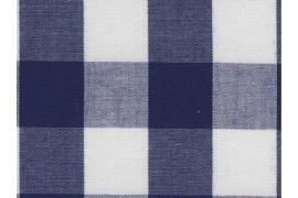 Tissu Vichy marine carreaux 16mm