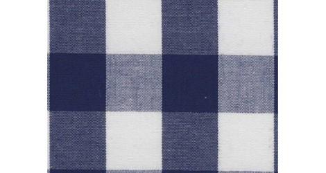 Tissu Vichy marine carreaux 16mm dans Tissus Carreaux par Couture et Cie