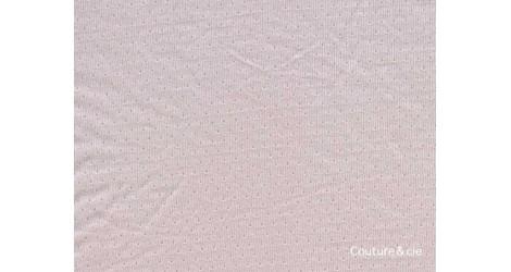 Jersey ajouré FDS rose nude dans Jerseys FDS par Couture et Cie