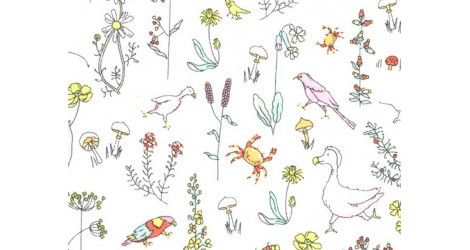 Tissu Liberty Theo dans Batistes Tana Lawn par Couture et Cie