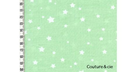 Poussière d'étoiles vert d'eau