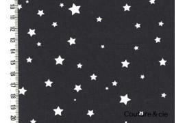 Poussière d'étoiles gris anthracite