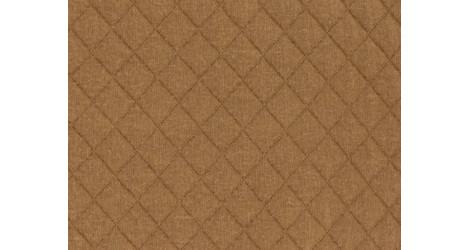 Jersey matelassé FDS caramel dans Matelassés par Couture et Cie