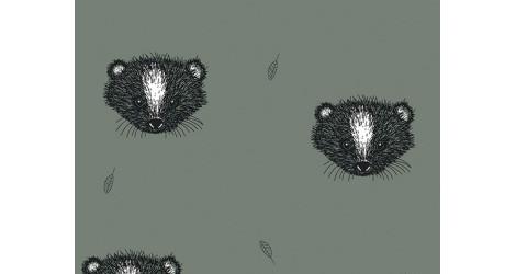 Jersey Bio Bloome Skunk Dusty vert dans Bloome Copenhagen par Couture et Cie