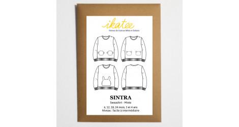 Patron sweat Ikatee Sintra dans Patrons Ikatee par Couture et Cie