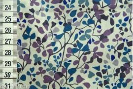 Tissu Liberty Nina Taylor bleu