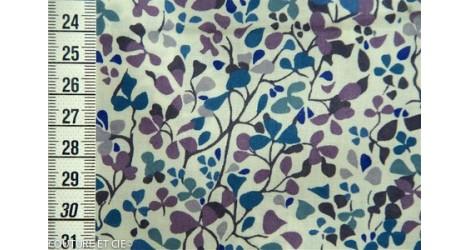 Tissu Liberty Nina Taylor bleu, coupon 35*137cm dans Tissus LIBERTY OF LONDON par Couture et Cie