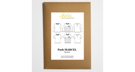 Patron couture T-shirt Marcel