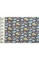 Tissu Liberty Hunter Truck gris