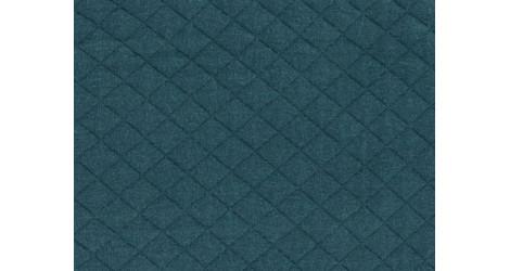 Jersey matelassé FDS vert sapin